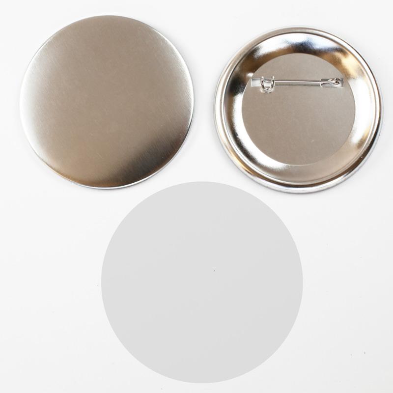 100 sets pin badge metal back button parts. Black Bedroom Furniture Sets. Home Design Ideas