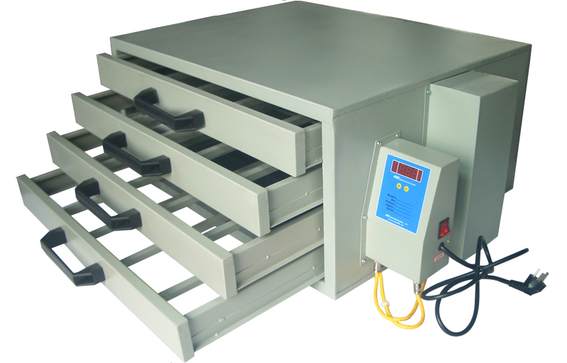 Heated Drying Cabinet ~ Screen printing drying cabinet temperature control plate