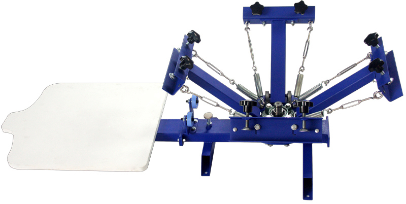 Screen printing home diy printing machine t for Single shirt screen printing