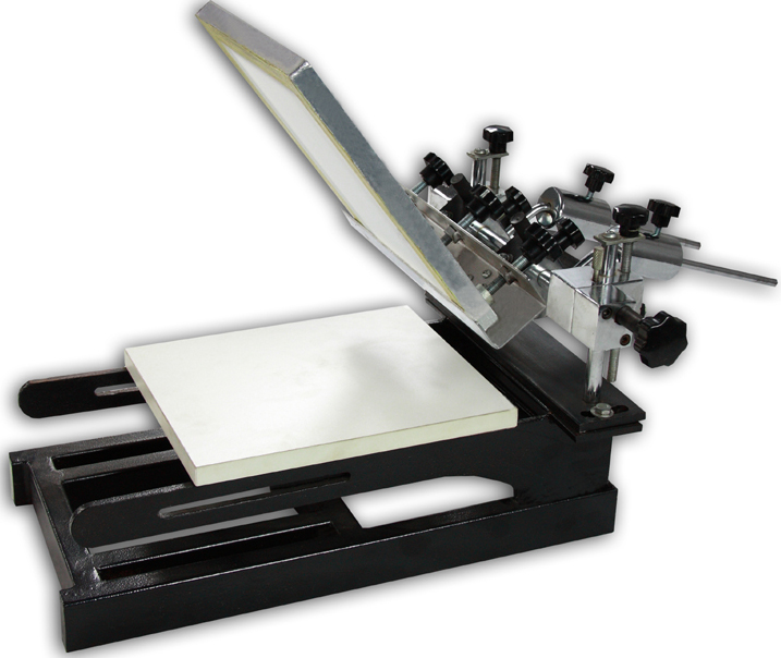 small silk screen machine