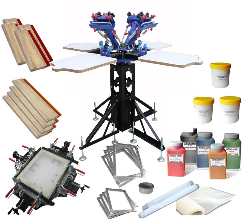 Screen printing machine home pneumatic screen printing quotes for Diy t shirt screen printing at home