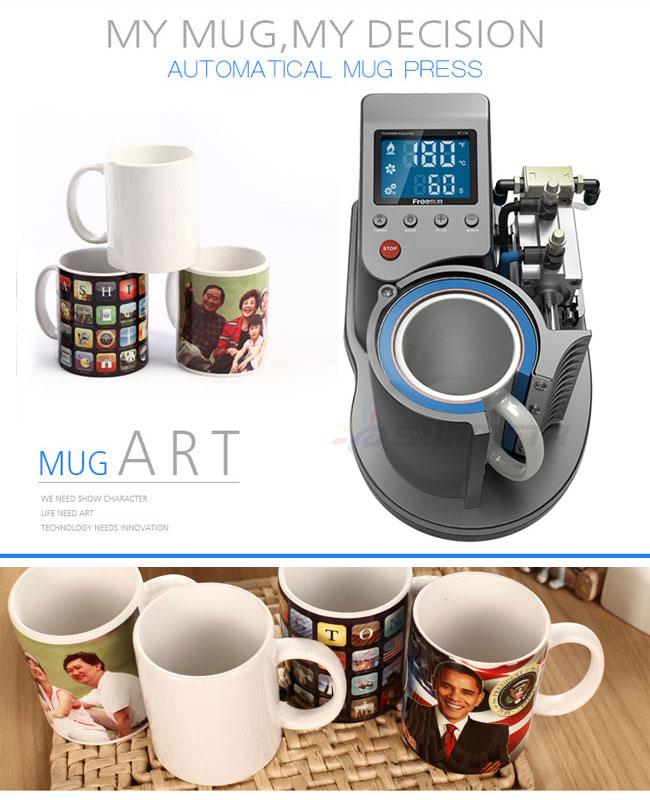 Pneumatic Sublimation Mug Transfer Startup Kit