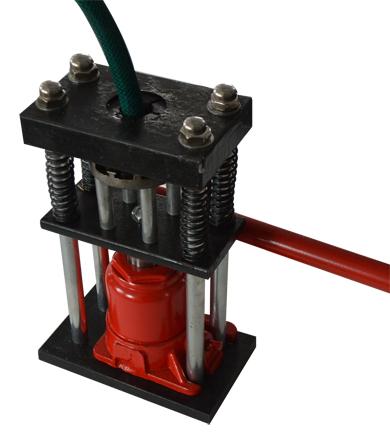 Manual Benchtop Hydraulic Bottle Jack Hose Crimper