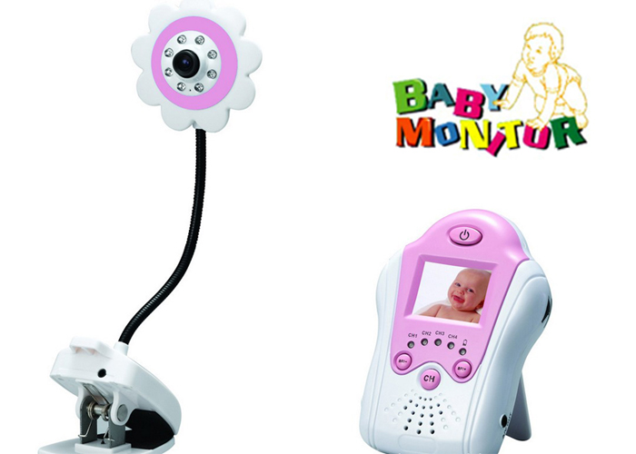 wireless digital baby monitor lcd camera video night vision baby safety supplies ebay. Black Bedroom Furniture Sets. Home Design Ideas