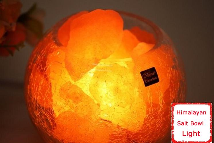 Salt Lamps For Depression : Himalayan Salt Lamp Bowl Light Rock Crystals Natural AIR Purifier 152261 eBay
