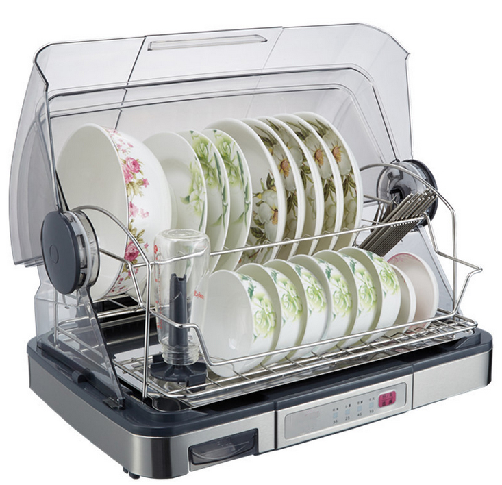 Details about Electric Compact Countertop Dish Dryer Portable Tabletop ...