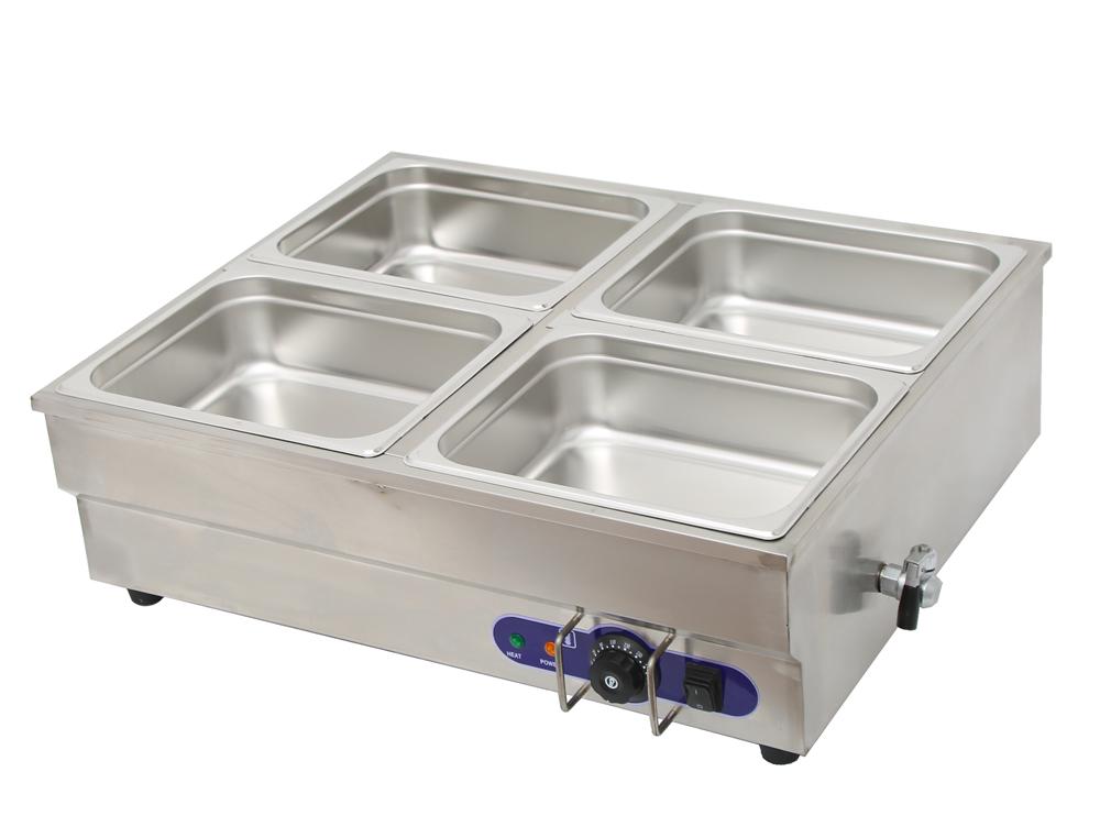 Table Food Warmer ~ Pan counter top warmer bain marie buffet steam table