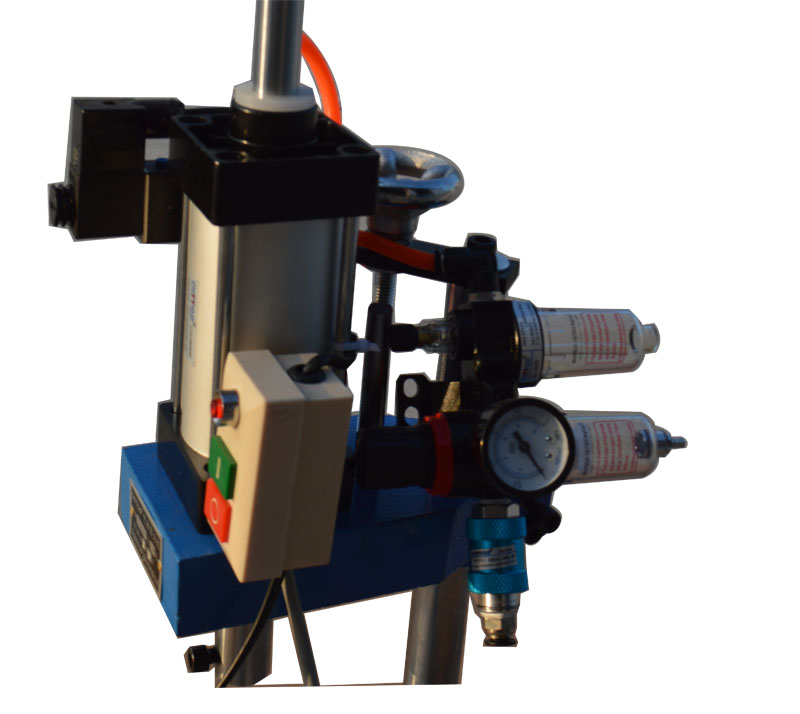 pneumatic punch press machine