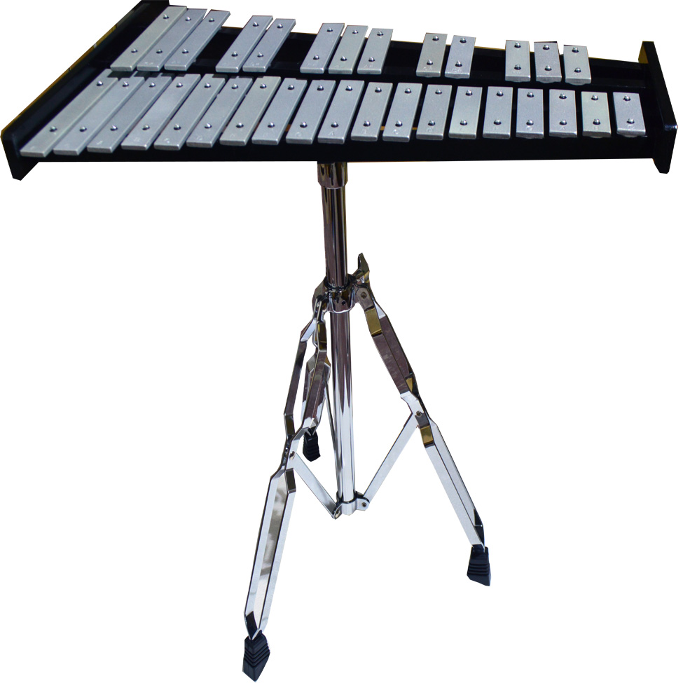 percussion 32 note school student bell kit xylophone set bag includ and drum pad ebay. Black Bedroom Furniture Sets. Home Design Ideas