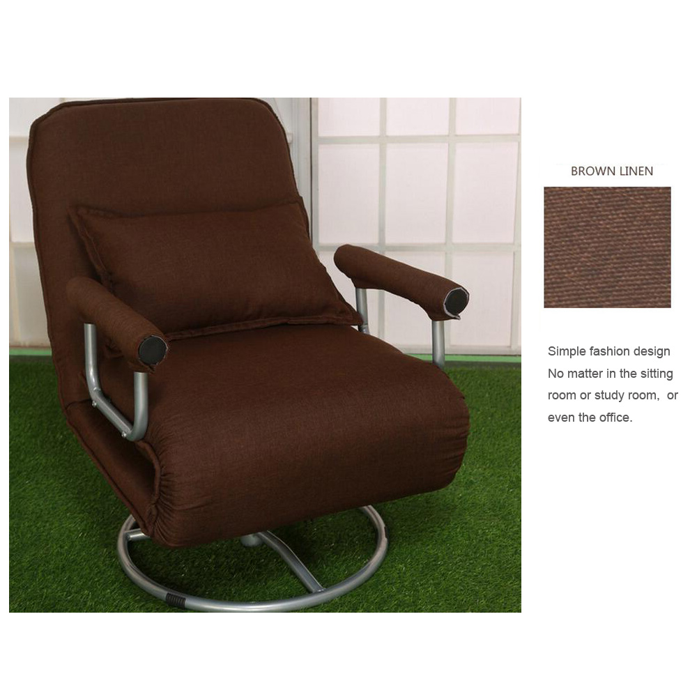 Convertible Ottoman Chair Costco: Folding Convertible Lounger Chair Sofa Lounge Bed Chaise