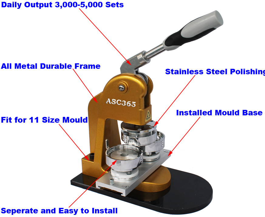 used button making machine