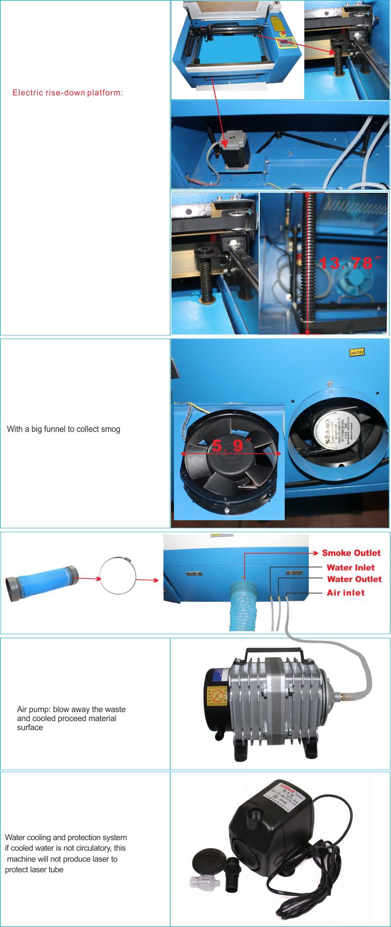 3050 50w Laser Engraving Machine