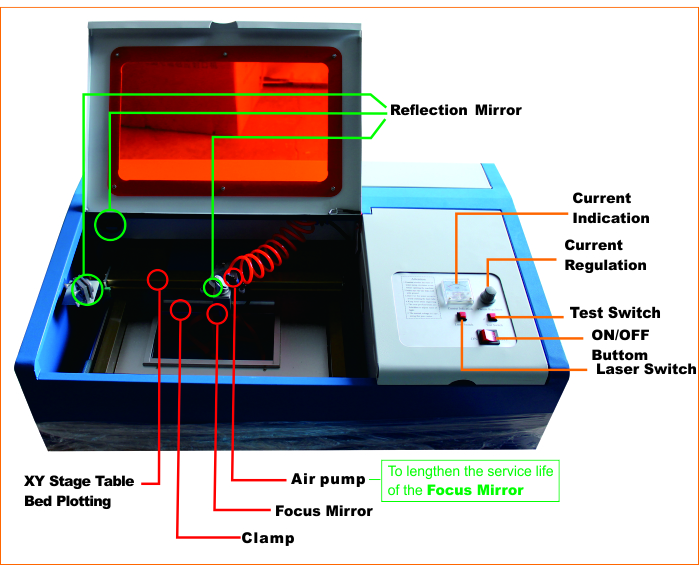 110v Engraving Machine With Clamp