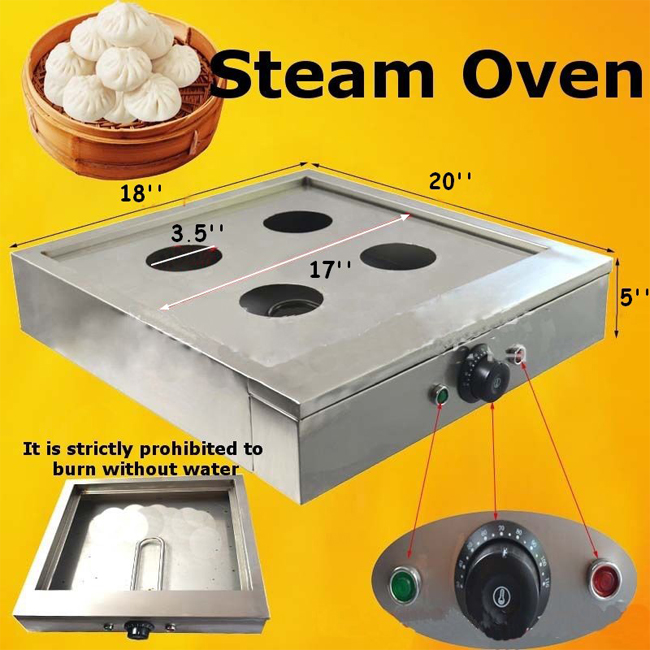 Steaming Dumplings Without A Steamer ~ Electric steam oven