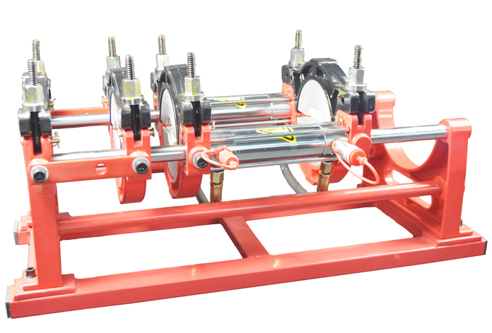 110v Hydraulic 4 Clamps Pipe Fusion Welder