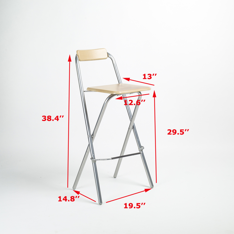 2 Chairs High Quality Two Packed High Chair Bar Stool