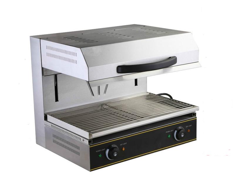 220v electric heating surface stove lift up salamander for Salamander stoves