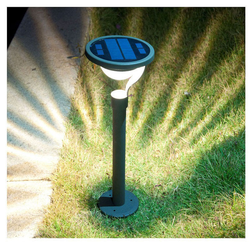 Solar Landscape Lights Canada: Ground Lamp LED Solar Power Buried Light Under Outdoor