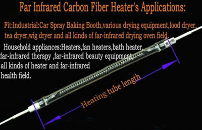 Spray Baking Booth Infrared Ir Paint Curing Heating Lamp