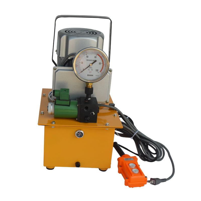 Single acting remote control valve electric hydraulic pump for Hydraulic motor control valve
