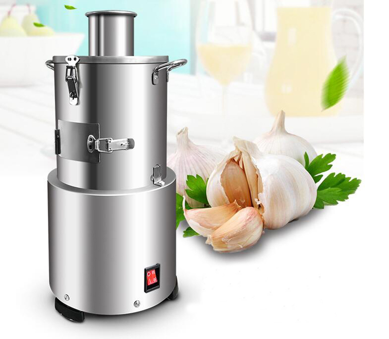 INTBUYING Electric Garlic Peeler Peeling Machine Household and Commercial 110V