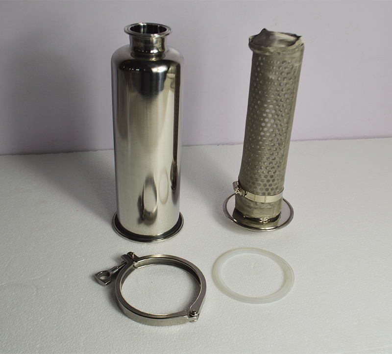3/'/' SS304 Y Type Sanitary Strainer Filter High Flow Quick Filter 100 Mesh