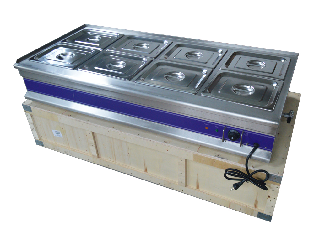8 Pan Bain Marie Buffet Food Warmer Steam Table57 X 26 X