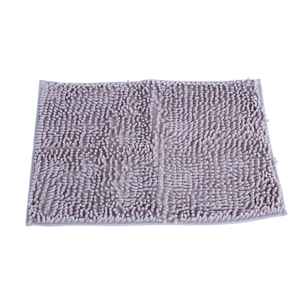 Non-slip Microfiber Shag Bathroom Rugs Bath Mats Shower