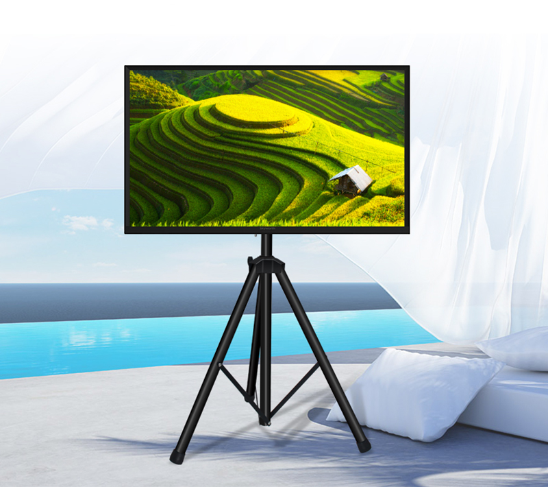 New Portable Flat Panel Monitor Stand With Foldable Tripod Tv Stands
