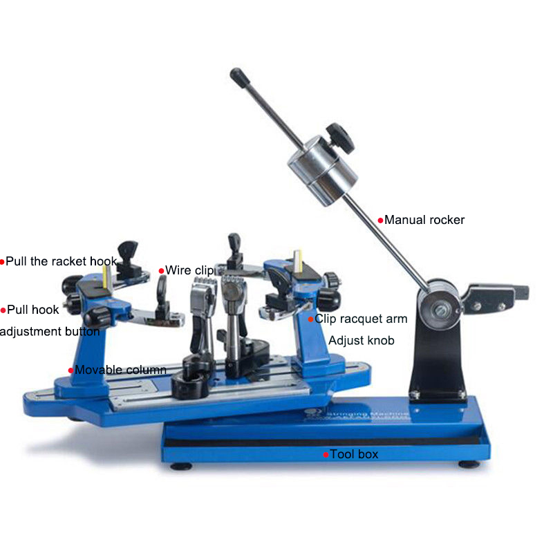 Tennis Stringing Machine >> Details About Racquet Stringing Machine For For Badminton Tennis Racket Brand New